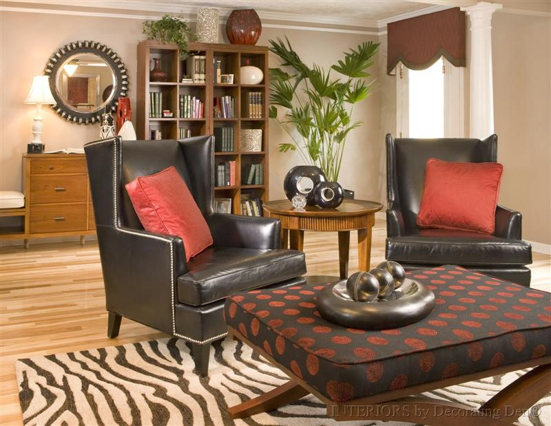 Den Decorating Ideas - interior decorating tips