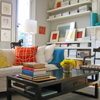 How to decorate shelves devine decorating results for your interior - Filing solutions for small spaces photos ...