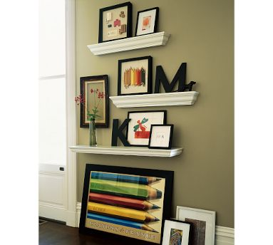 How to decorate shelves devine decorating results for - How to decorate wall shelves ...