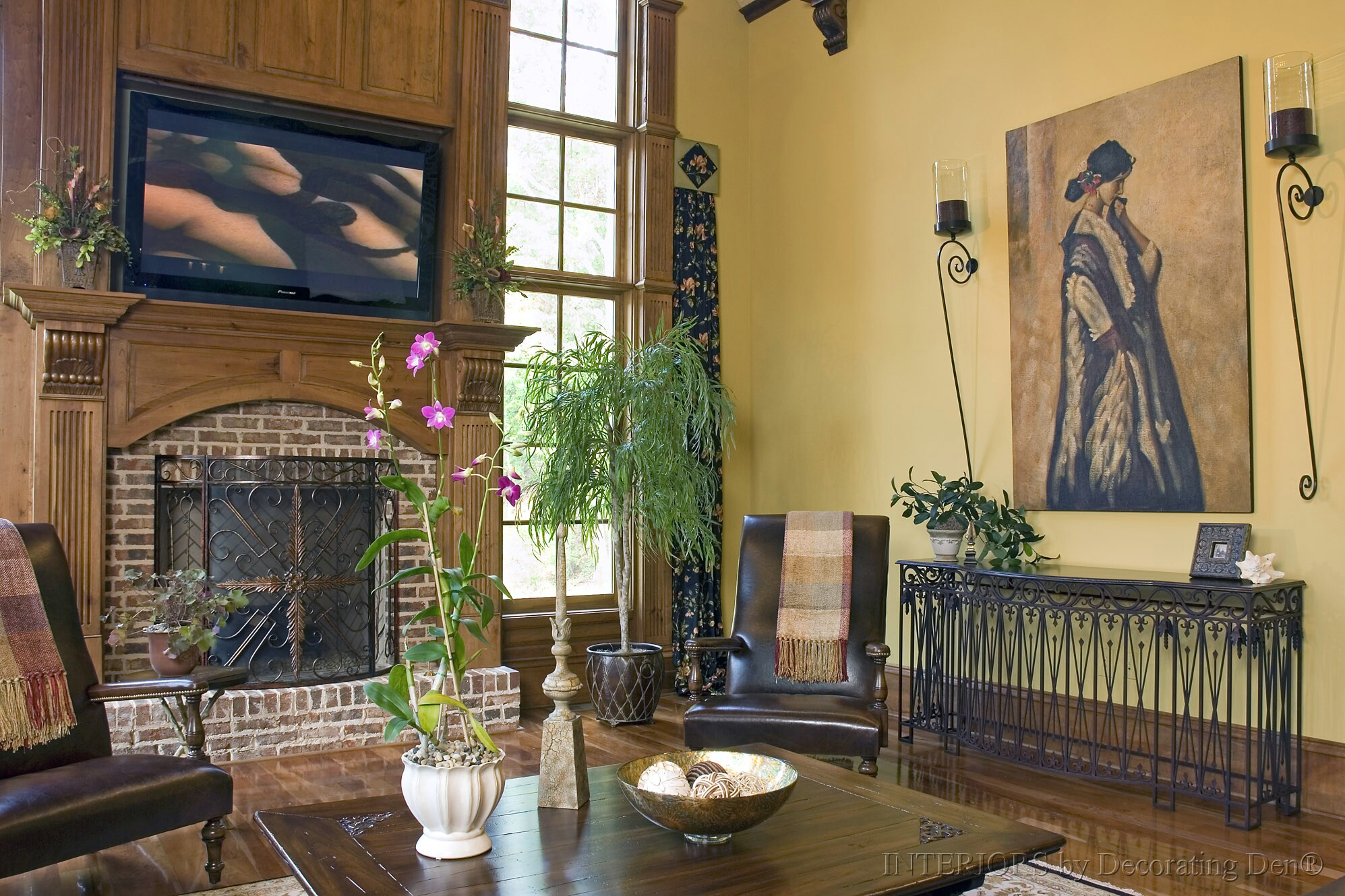 Tips And Tricks For Decorating With Tall And Low Ceilings: decorate large living room