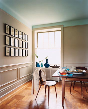 Tips and tricks for decorating with tall and low ceilings Rules for painting ceilings