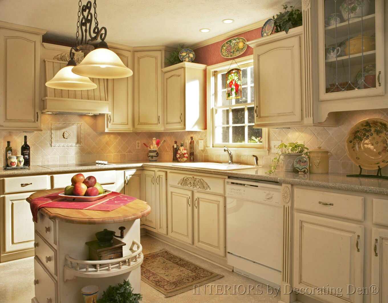 Important kitchen interior design components final article in series how to tie it all - Color schemes for kitchens ...