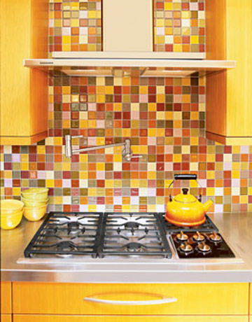 Important kitchen interior design components final article in series how to tie it all - Exceptional backsplash kitchen interiors artistic look ...