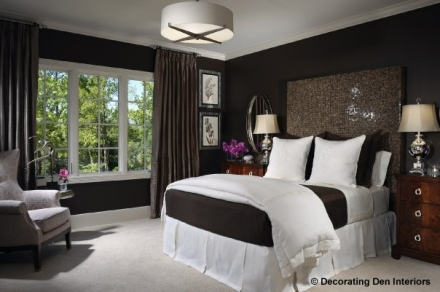 A more contemporary bedroom design