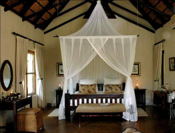 Inspiration for adding fabric and window treatments in the for Exotic bedroom decor