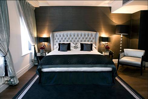 Inspiration for adding fabric and window treatments in the for W hotel bedroom designs