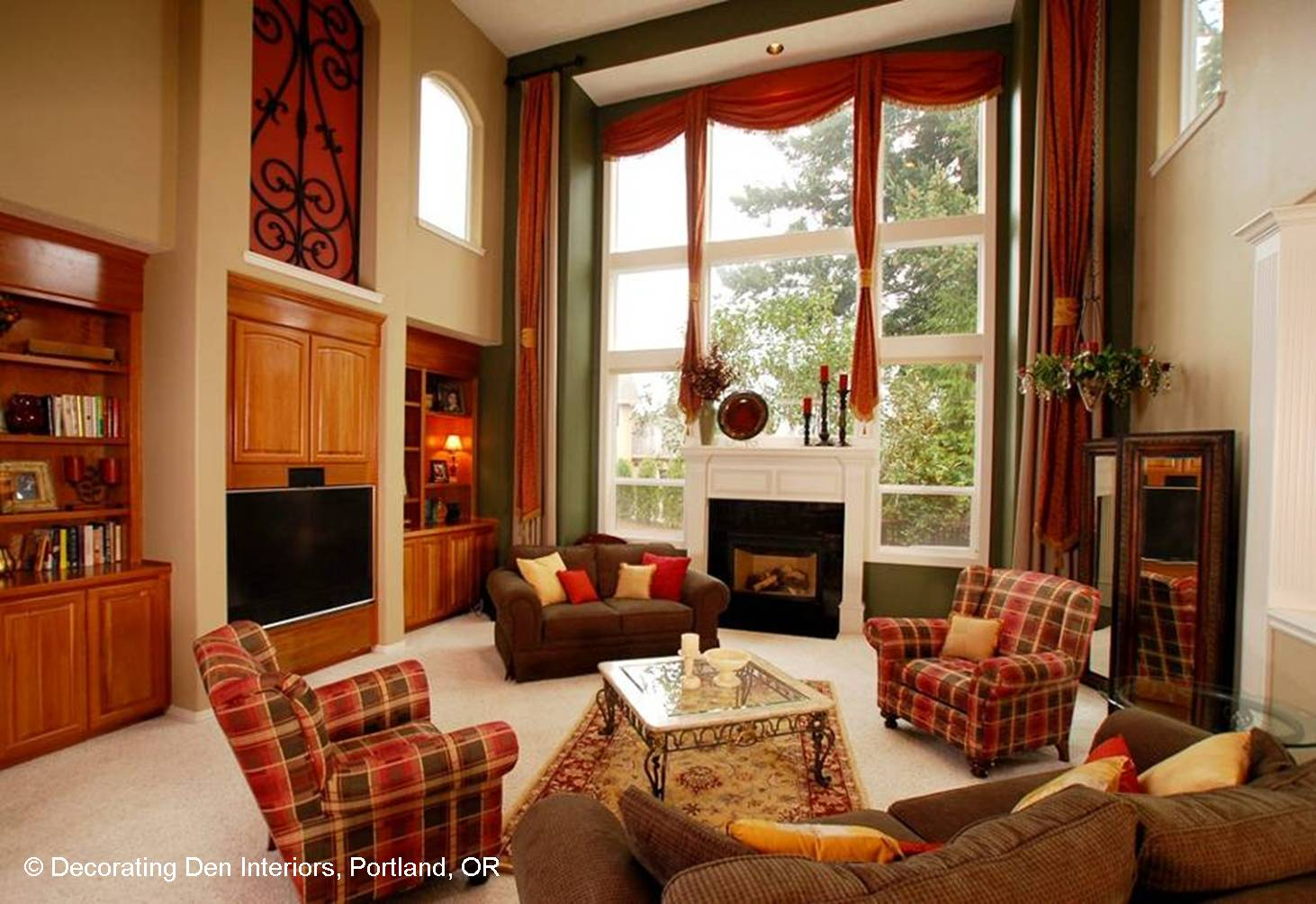 Focus on the fireplace devine decorating results for for Family room decorating fireplace