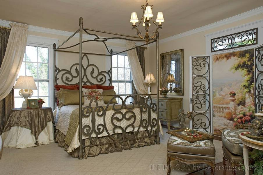 Designing bedroom interiors continued custom elements for Decorating den interiors