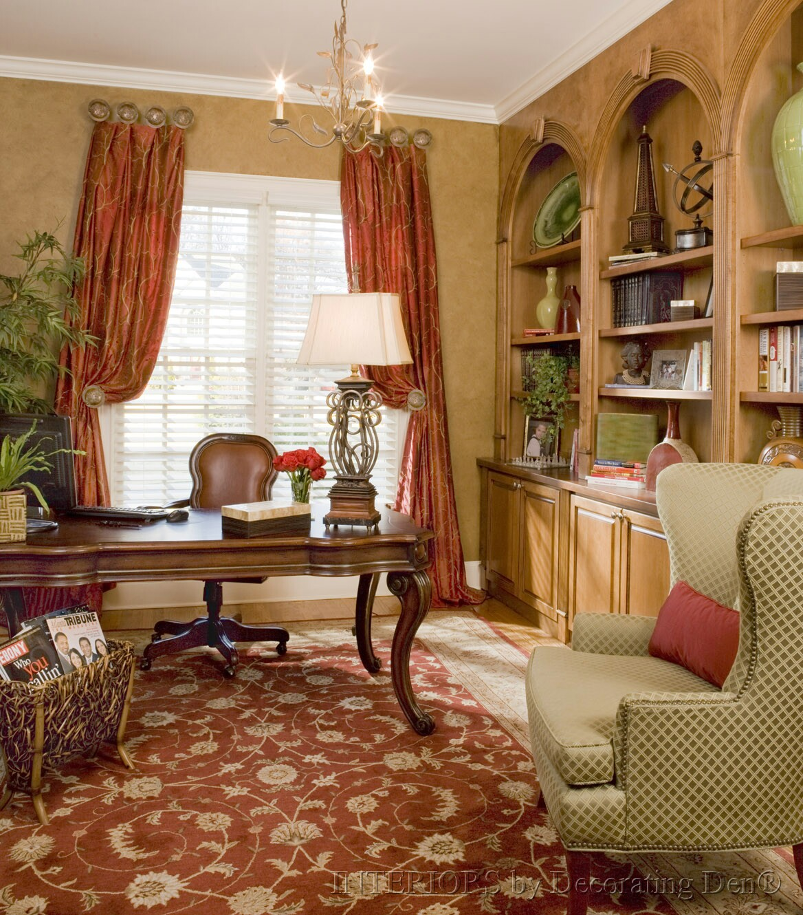 Office Den Decorating Ideas: Four Steps For Adding Your Mom Cave Retreat