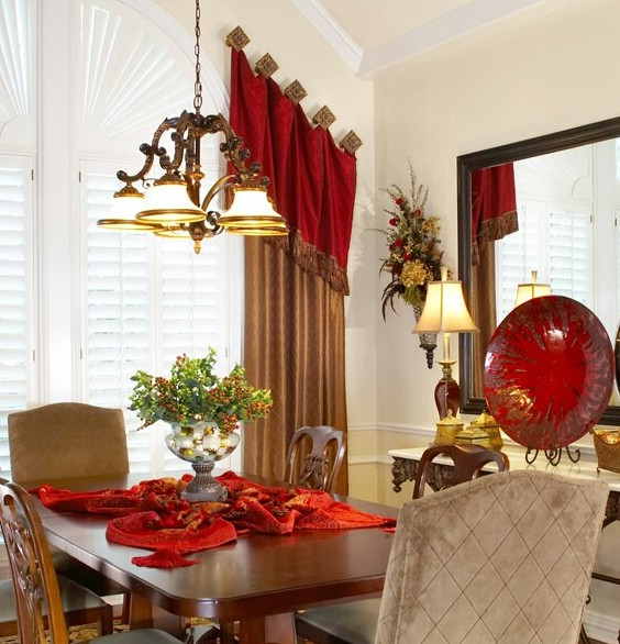 Time to dress the turkey and your table devine for Decorating den interiors
