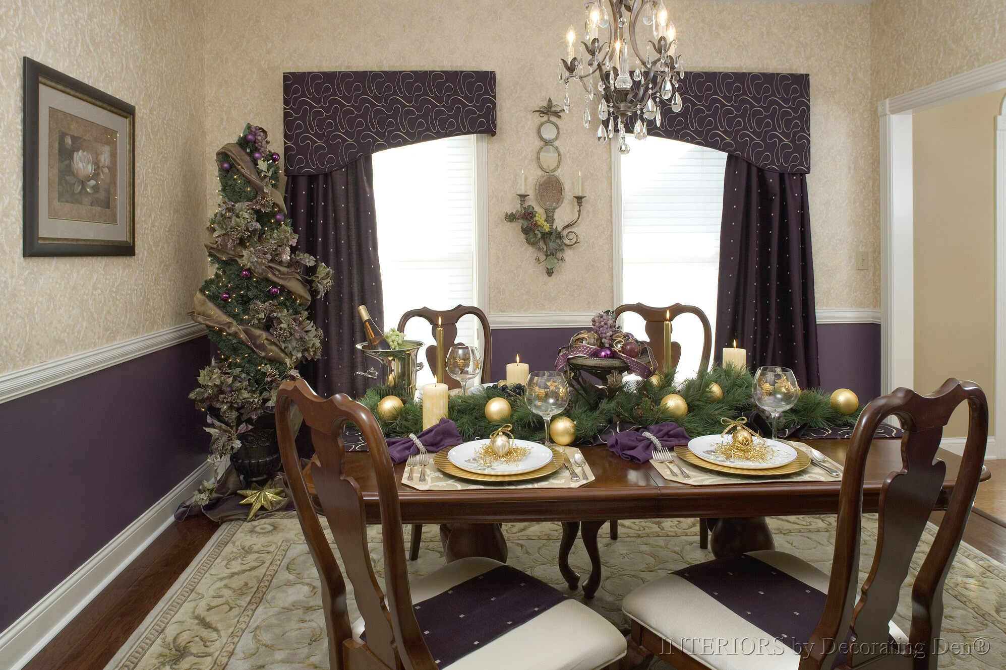 Christmas Dining Room 3 Holiday Decorating Tips For The Last Minute Devine Decorating