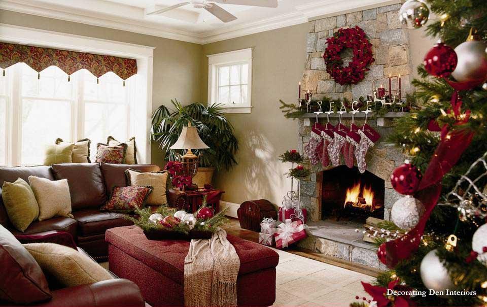 Holiday Decorating Interiors Ideas