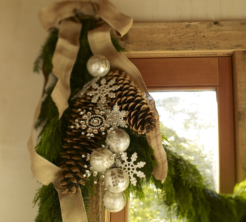 Inspirational holiday decorating ideas with garlands and