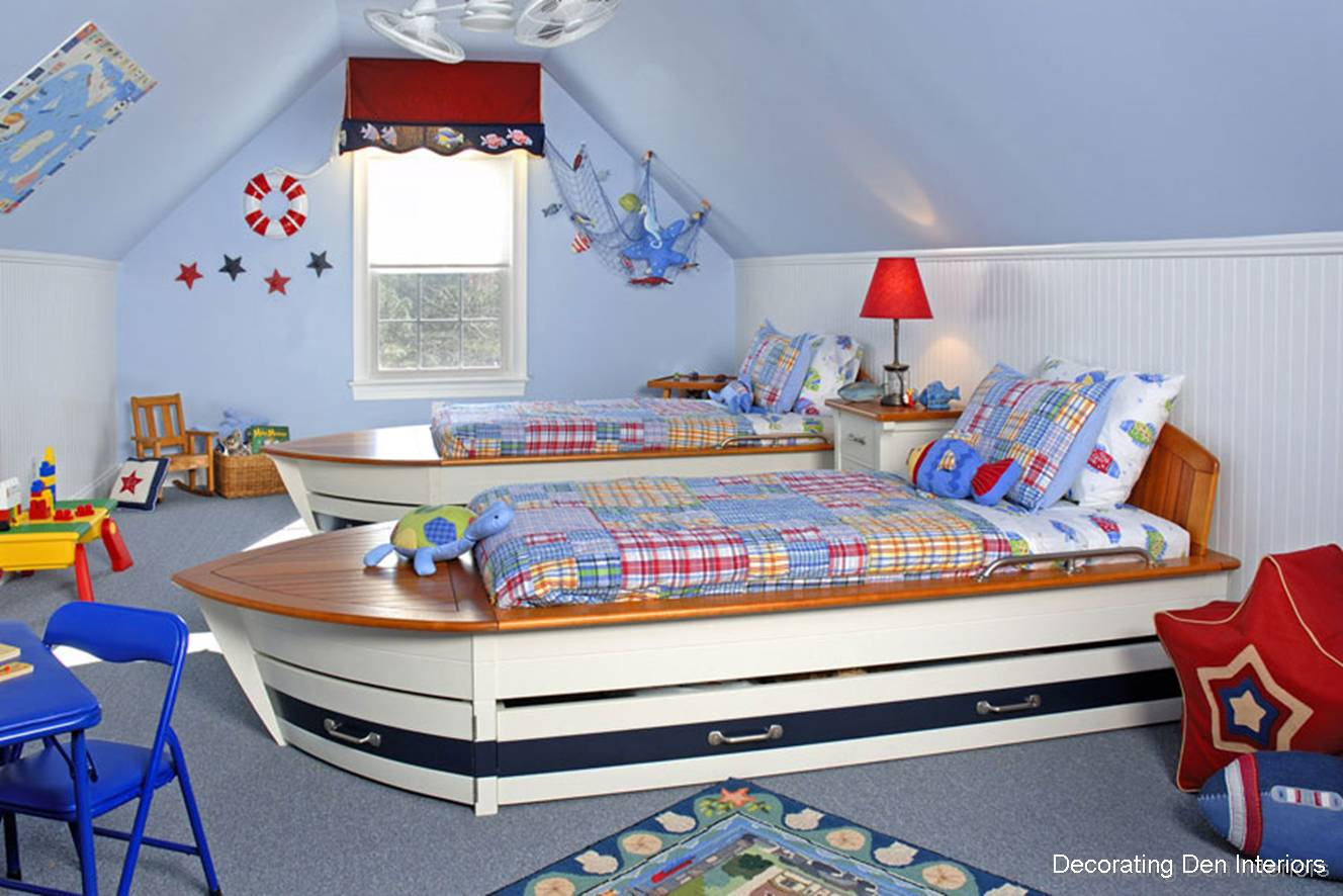 Another great room design that can last from little boy to teenager