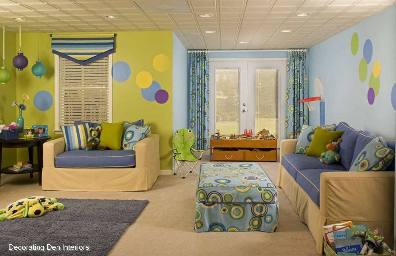 Tips for decorating kid s rooms devine decorating for Decorating den interiors