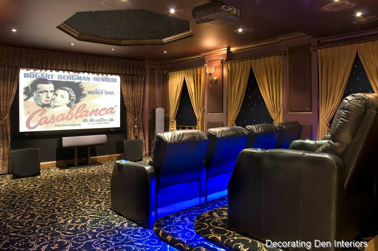 Tips for creating a media room big or small devine for What is a media room