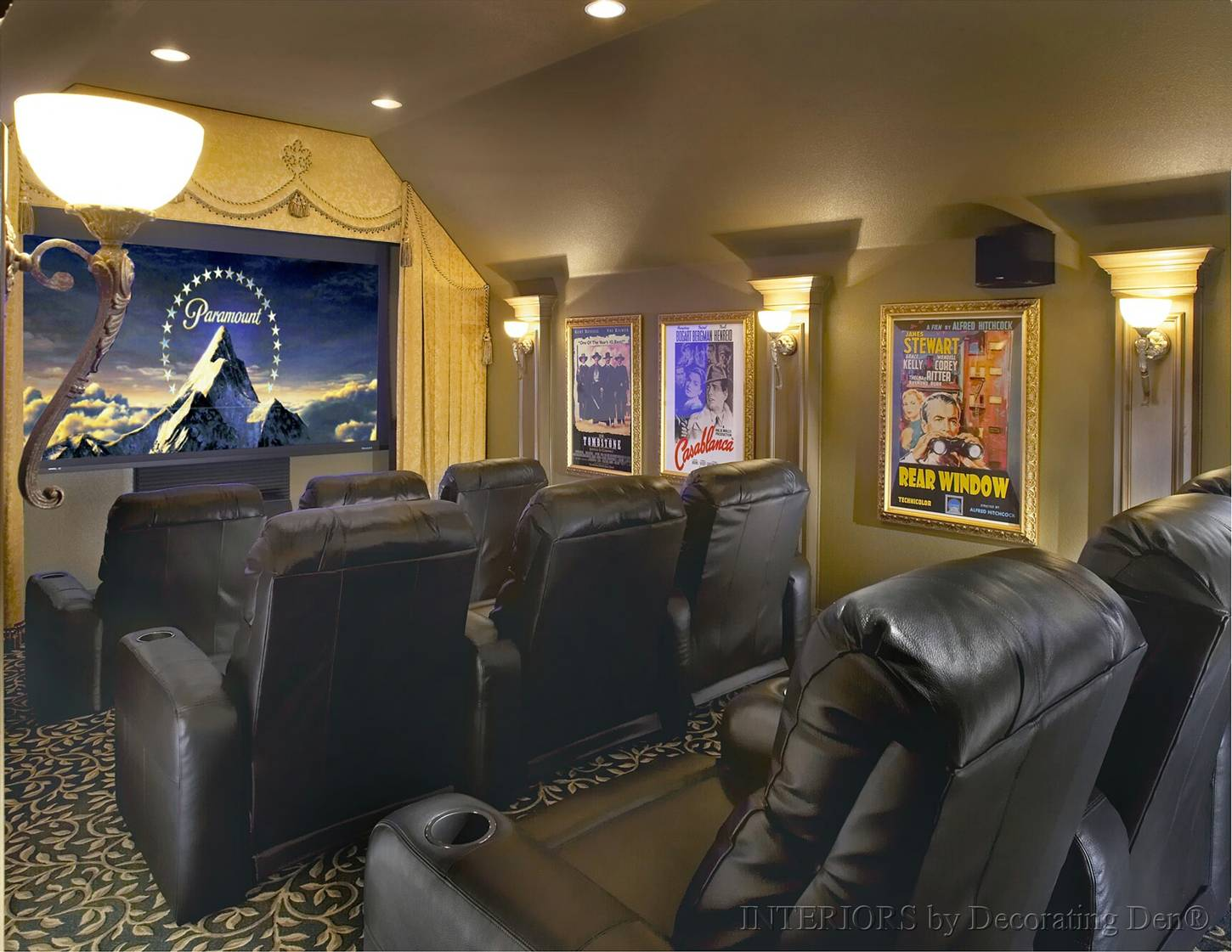 Tips for Creating a Media Room, Big or Small | Devine Decorating ...
