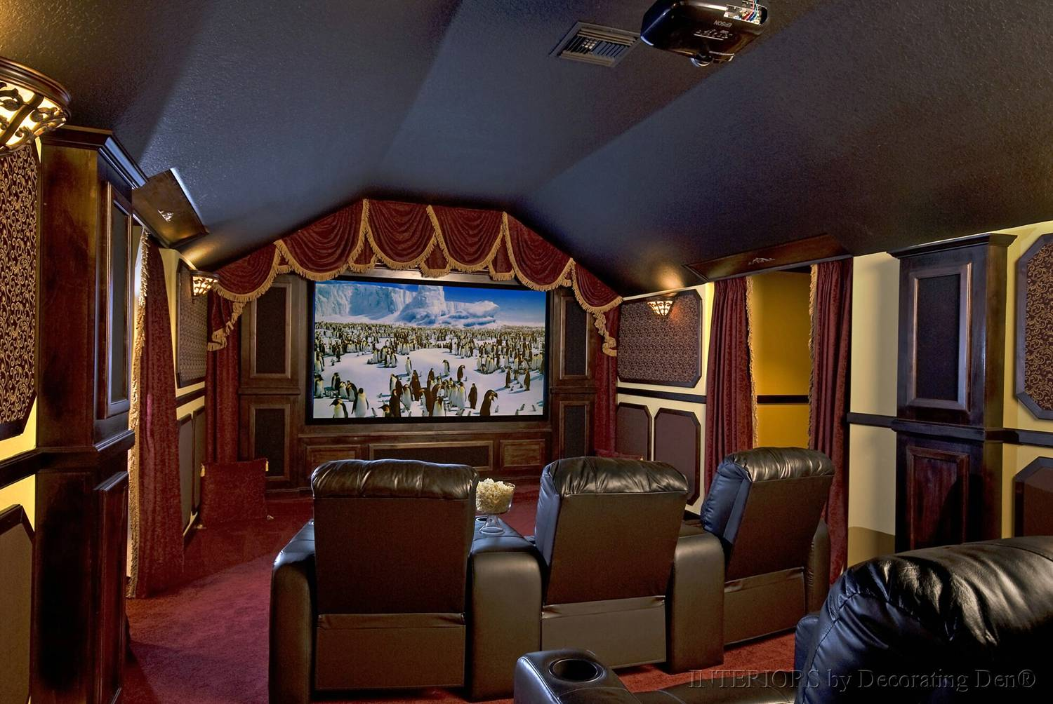 Tips for creating a media room big or small devine for Theatre room ideas