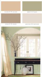 calming color scheme benjmoore