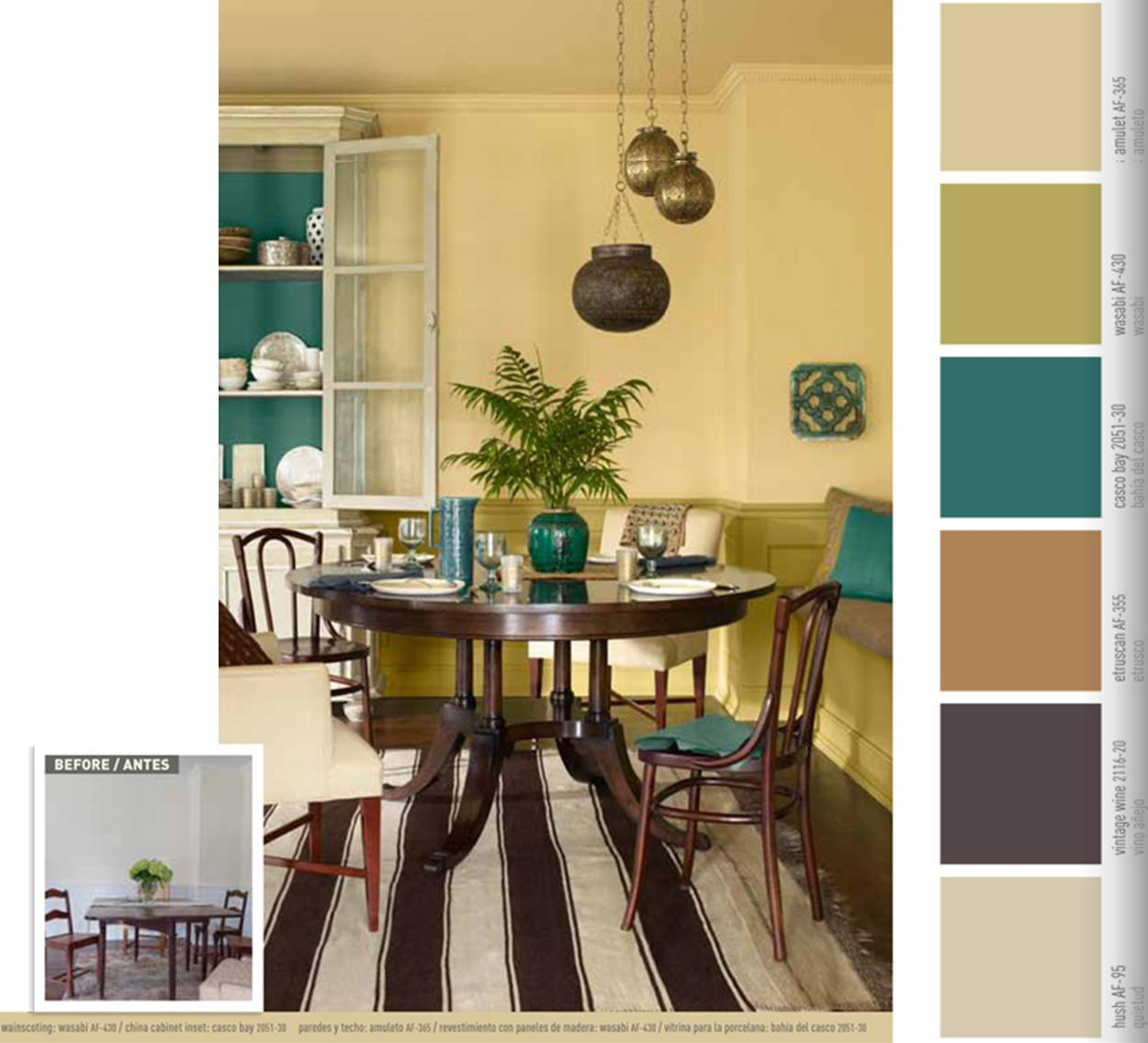 Change Your Color Scheme When You Tire Of It Benjamin Moore Paints