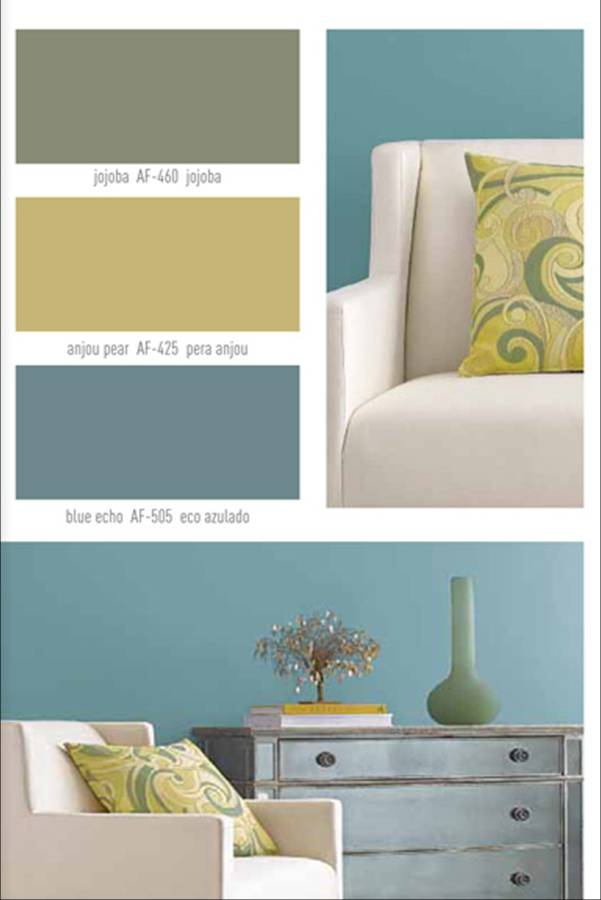Paint color schemes for homes home painting ideas - Interior home painters inspiration for color ...