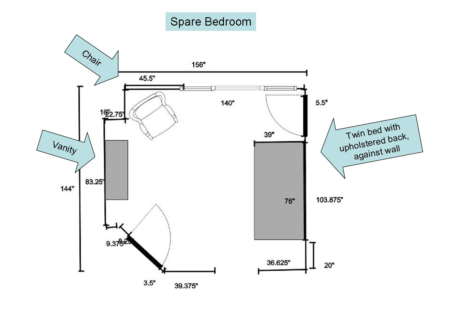 Create a fresh fun and funky teen room or den on a dime for Floorplan com