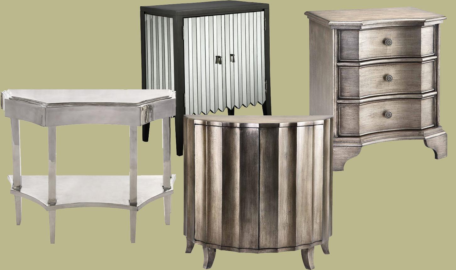 Beau Silver Metallic Finishes On Furniture ...