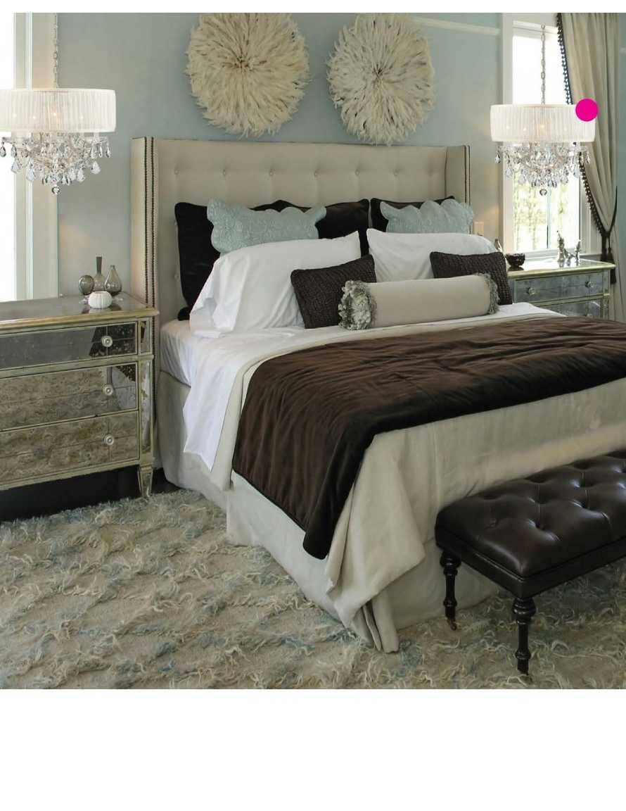 Add A Little Glamour In Your Bedroom Design