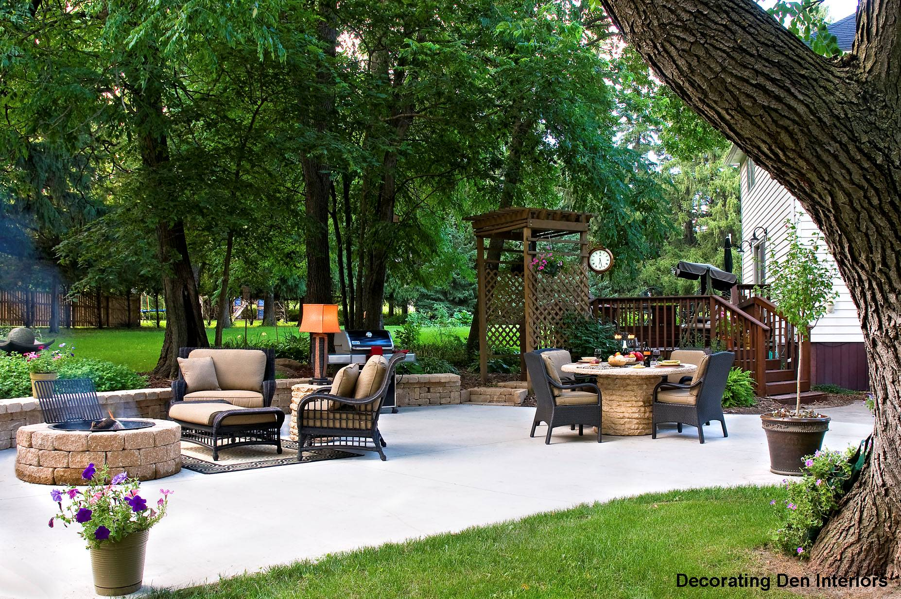 Inspiration & Tips For Decorating Outdoor Rooms