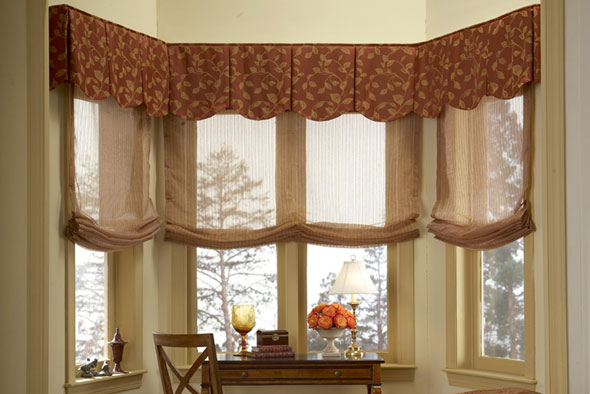 Cost effective ideas for changing out your window for Window treatments for less