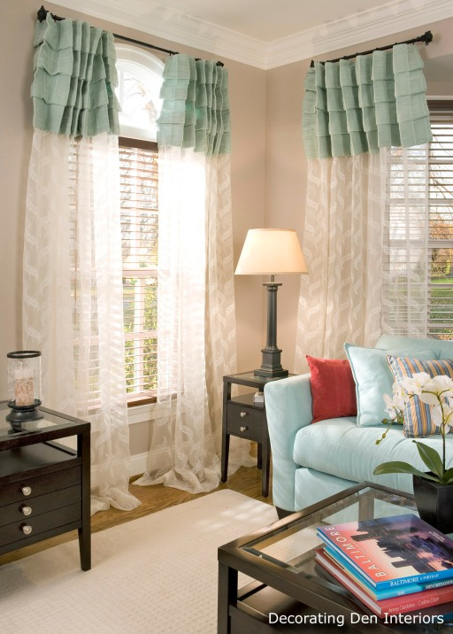 Cost effective ideas for changing out your window for Decorating den interiors