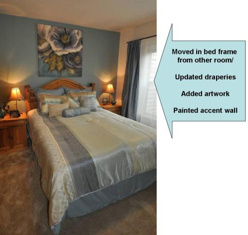 Staged Bedroom Before And After Bedroom Decorating Ideas Light Blue Built In Cupboards Bedroom Ideas Bedroom Carpet Ikea: Staging Tips And Examples To Help Your Home Stand Out