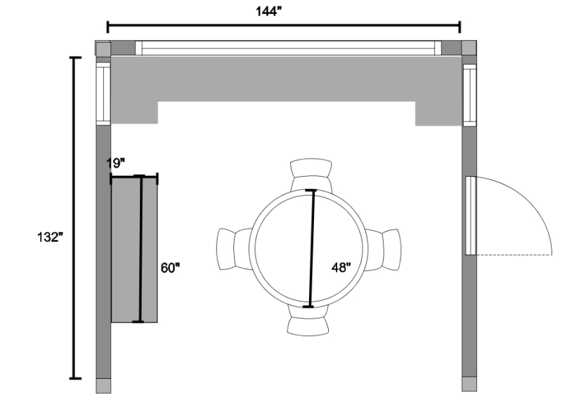 round kitchen table plans