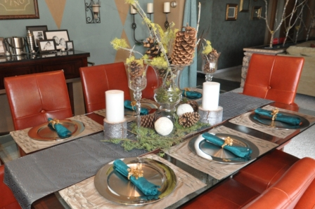 Another view including partial table settings.